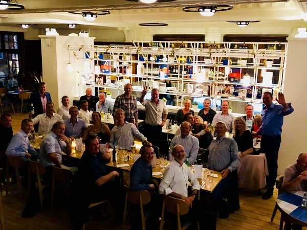 '88 Leavers enjoying dinner at Carluccio's, York